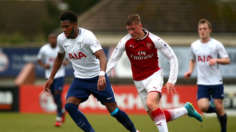 Reo Griffiths made the surprise decision to leave Tottenham in the summer