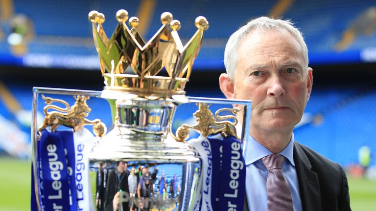 Outgoing Premier League executive chairman Richard Scudamore becomes a CBE for his services to football