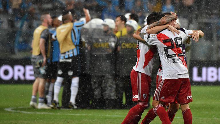 Boca Juniors and River Plate in Libertadores final