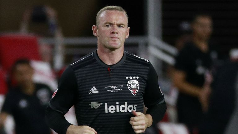 Rooney scored 12 goals in 20 games for DC United last season