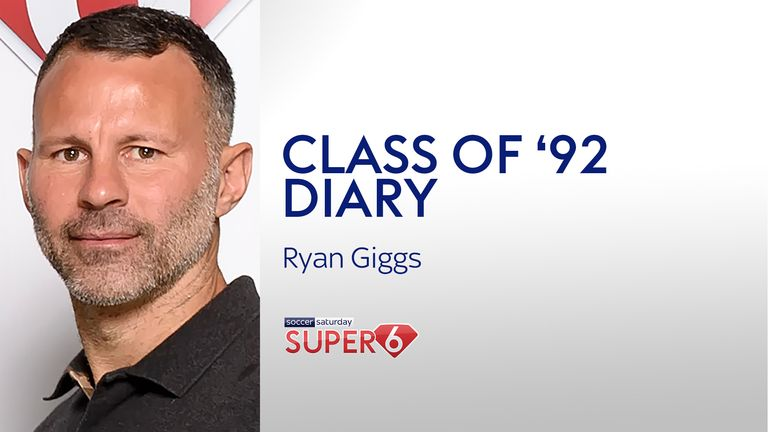 In his latest Super 6 Class of '92 diary, Ryan Giggs talks Eric Harrison, Paul Scholes, Ole Gunnar Solskjaer and the title race