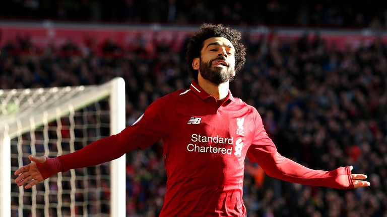Mohamed Salah is once again among the elite players this term