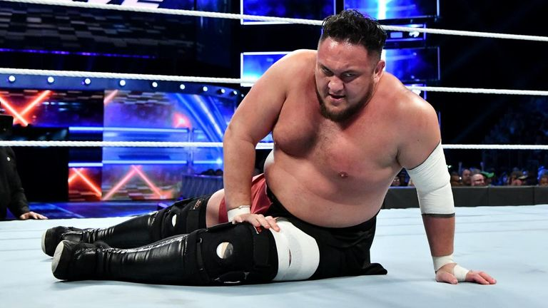 Could Samoa Joe's attention turn to the United States title after his failure to capture the WWE championship?
