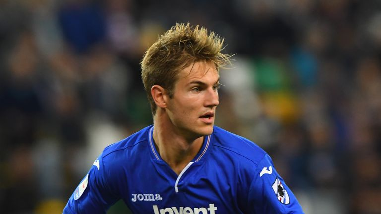 United could decide to pursue Sampdoria's Joachim Andersen should their move for Milenkovic fall through