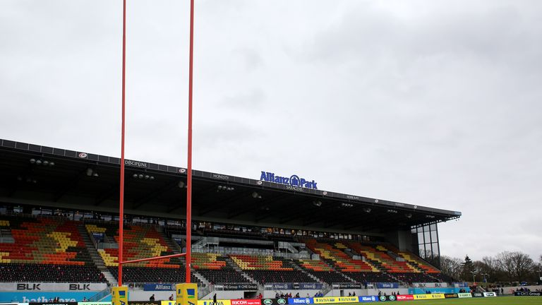 Saracens say that games will continue to be played at Allianz Park during the building period.