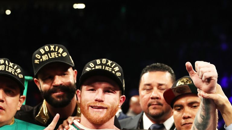 Saul 'Canelo' Alvarez is moving back down to middleweight