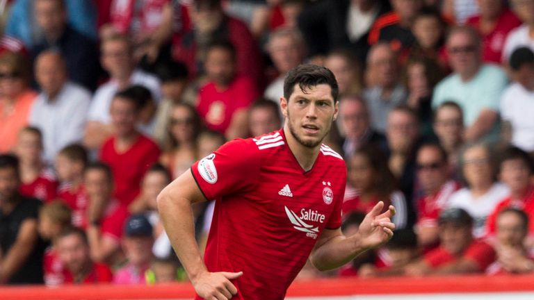 Aberdeen defender Scott McKenna played the full 90 minutes in both of Scotland's wins against Albania and Israel