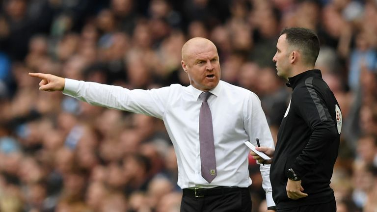 Sean Dyche's Burnley were beaten heavily on Saturday afternoon