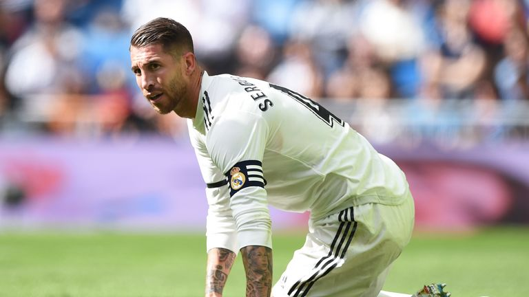 Ramos plays down training ground flashpoint