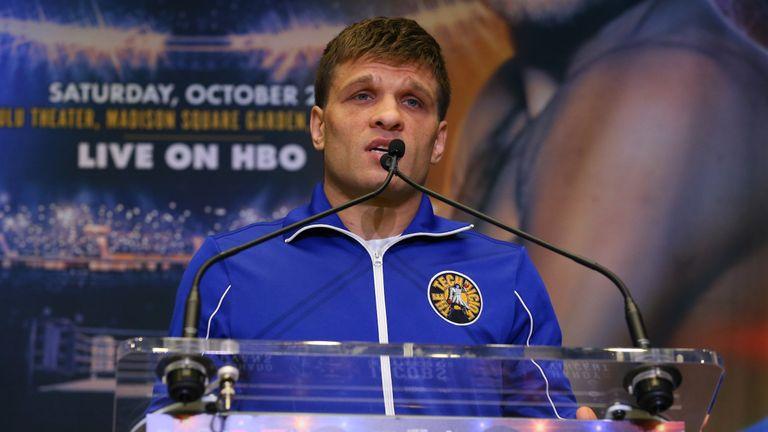 Sergiy Derevyanchenko is the unbeaten challenger