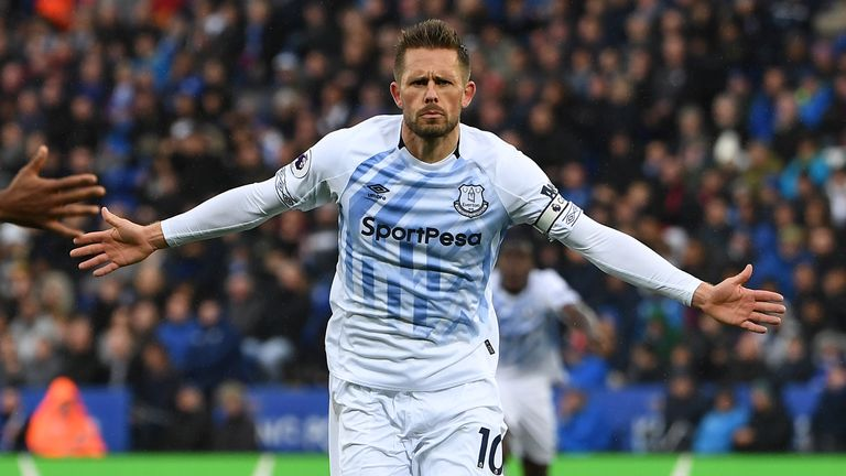 Gylfi Sigurdsson was rested during the Carabao Cup exit on Tuesday