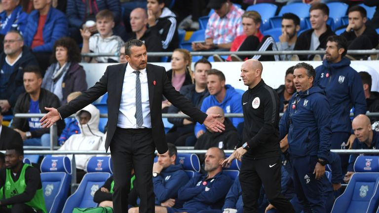 Jokanovic was sacked by Fulham in November