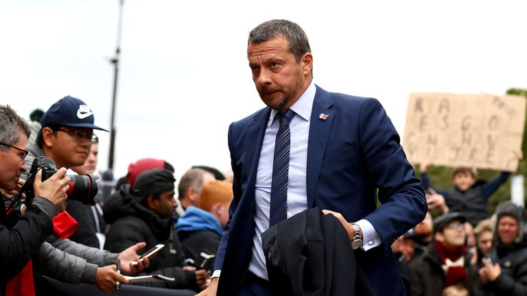 Slavisa Jokanovic has pleaded for time to turn Fulham's results around