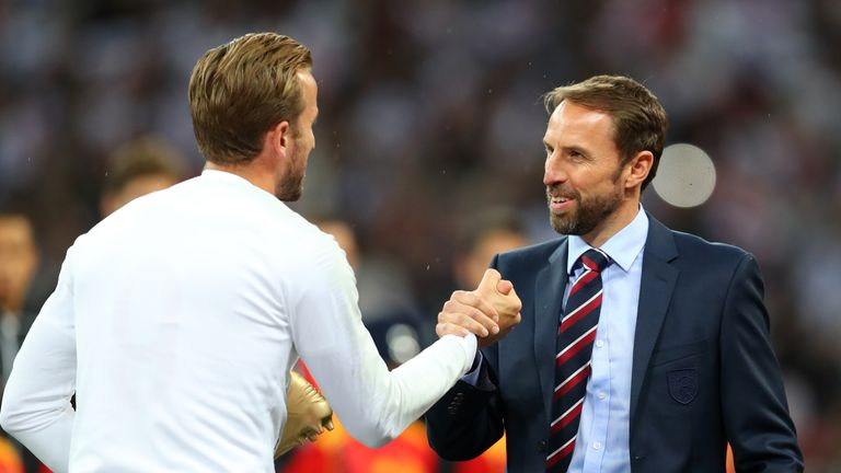 Gareth Southgate had previously favoured a back five