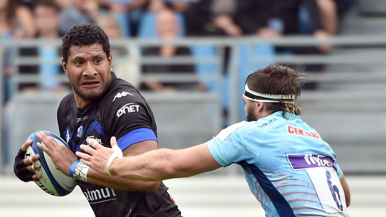 Steve Mafi scored early in the second half for Castres