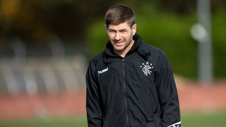"""Rangers boss Gerrard says it's """"a shame"""" Gascoigne's nomination has been withdrawn"""