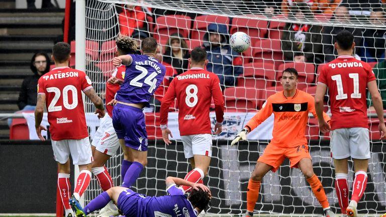 Darren Fletcher scored the only goal of the game for Stoke