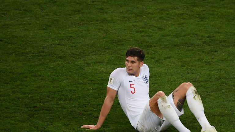 John Stones was involved in Croatia's opening goal in England's World Cup exit