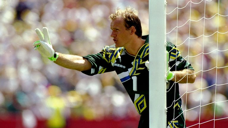 Brazil goalkeeper Taffarel changed things by moving to Europe in 1990