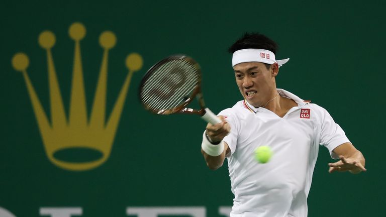 Kei Nishikori reached the Shanghai semi-finals in 2011