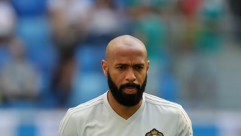 Thierry Henry is out of the running to replace Steve Bruce as Aston Villa manager say Sky sources