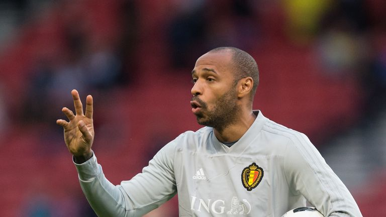 Thierry Henry is understood to be favourite for the Monaco job