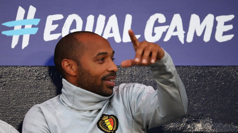 Thierry Henry is taking his first role as a manager