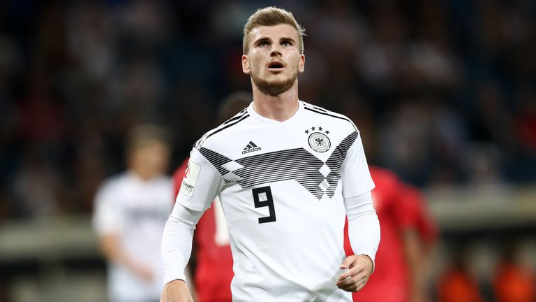 Werner has scored nine goals in 24 appearances for Germany
