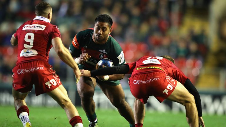 Tuilagi scored a crucial bonus-point try to move the Tigers out of range of the Scarlets