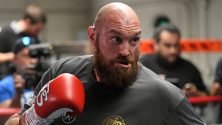 Tyson Fury working with Freddie Roach for Deontay Wilder fight | Boxing News |