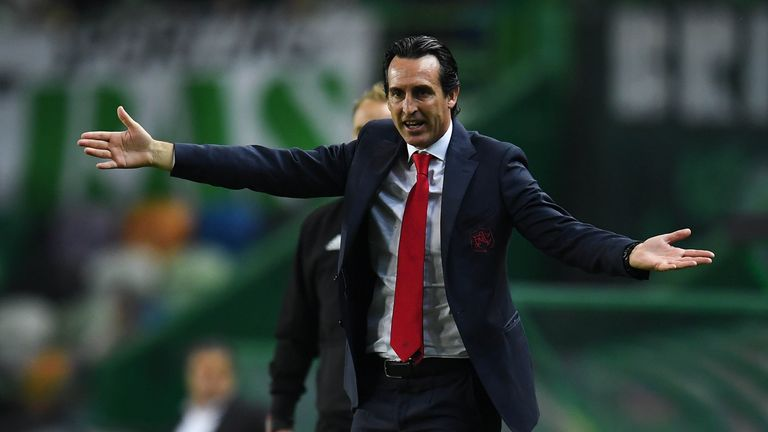 Unai Emery is not getting carried away by Arsenal's winning run