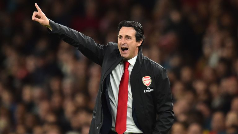 Unai Emery has won 11 of his 14 games as Arsenal boss
