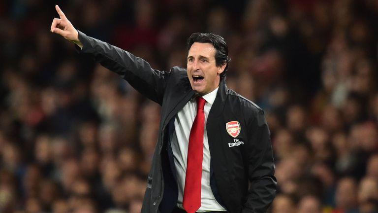 Unai Emery has won 11 of his 14 games as Arsenal boss