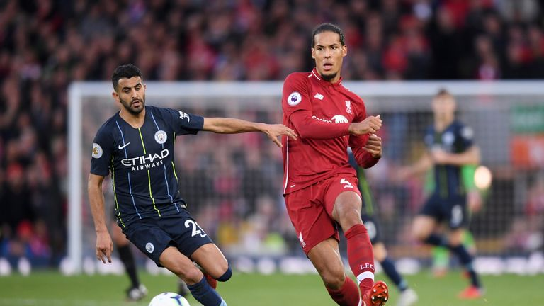 Virgil van Dijk believes games against teams outside the top six will be pivotal to Liverpool's title challenge