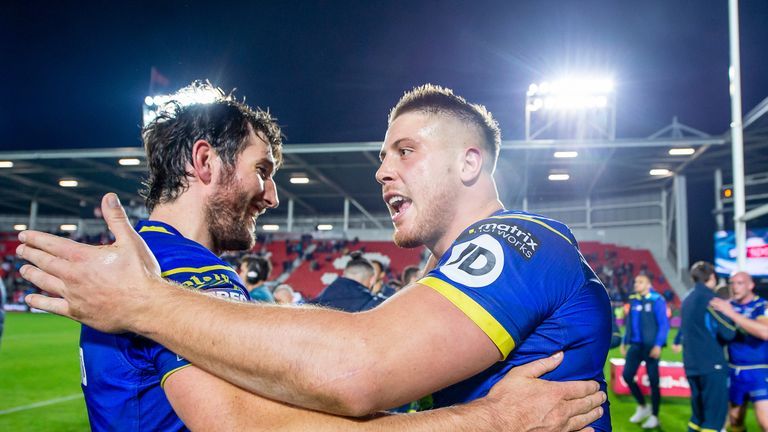 Warrington Wolves will be part of the 2018 Grand Final at Old Trafford