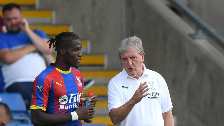 Dortmund are understood to have held an interest in Zaha (L) since the summer