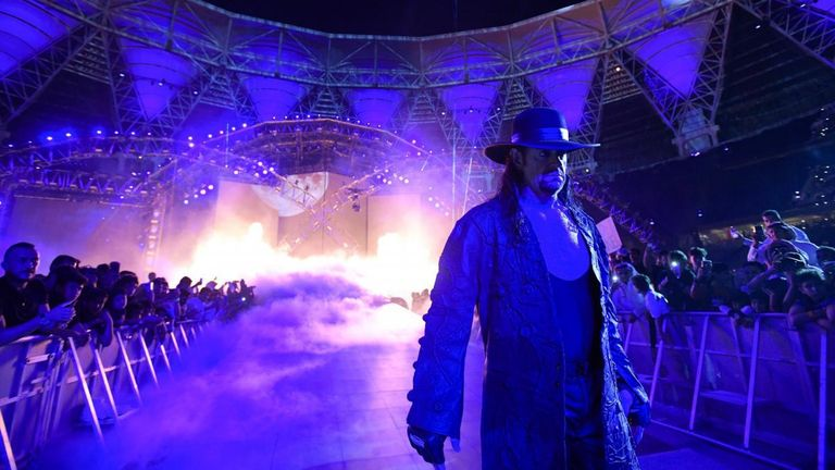 WWE staged the Greatest Royal Rumble in Saudi Arabia in April