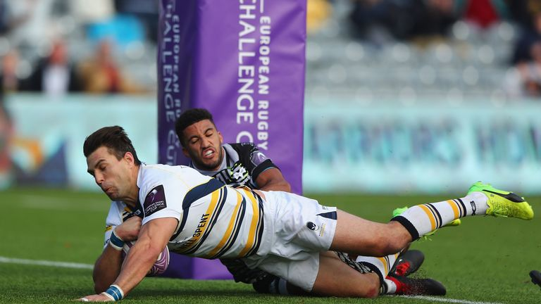 Wynand Olivier scored for Worcester as they beat the Ospreys at Sixways