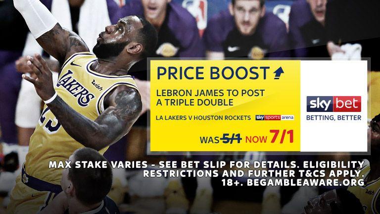 Sky Bet NBA Price Boost - 2010
