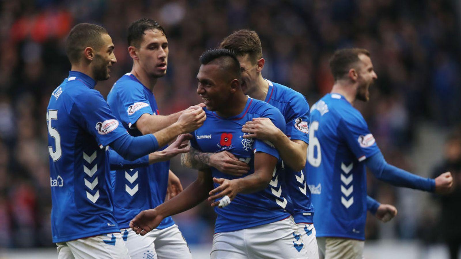 Rangers 7 - 1 Motherwell - Match Report & Highlights