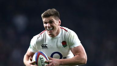 Owen Farrell said he 'should be training towards the end of this week'