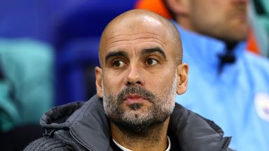 Pep Guardiola wanted to give City's academy products game time in the Carabao Cup semi-final second leg