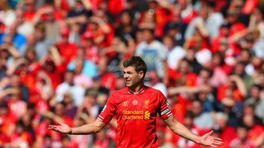 fifa live scores -                               Gerrard: Slip was 'pure bad luck'