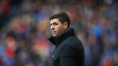 Steven Gerrard's Rangers have failed to win either of their last two matches