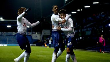 Tottenham U21s finished second in Southern Group A