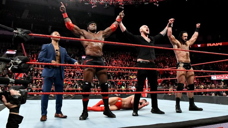 Baron Corbin - with some assistance from Drew McIntyre and Bobby Lashley - took out Finn Balor last week as his megalomania grows