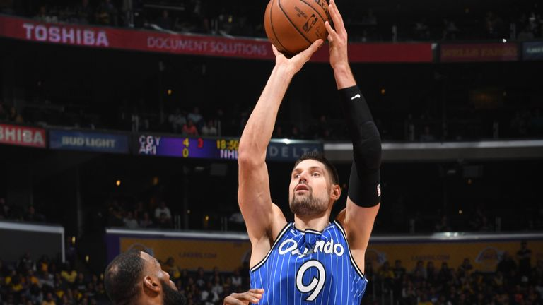 Nikola Vucevic scores 31 points as Orlando Magic beat Los Angeles Lakers for second time in eight days | NBA News |