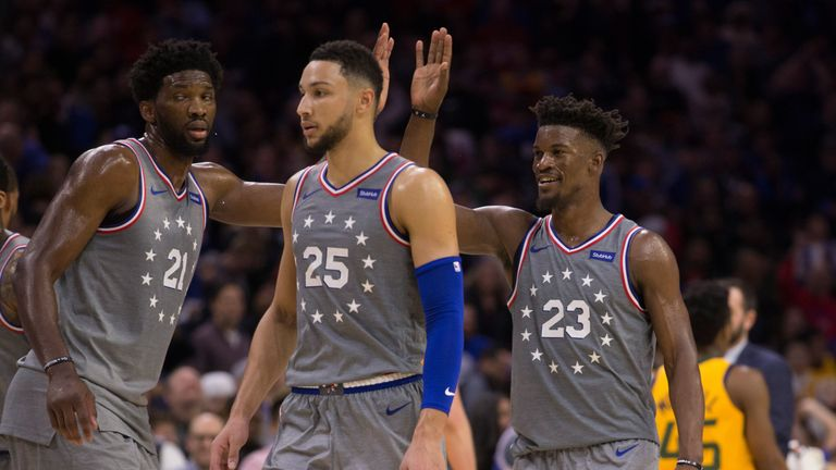 Jimmy Butler scores 28 points to lead Philadelphia 76ers to win over Utah Jazz in home debut | NBA News |