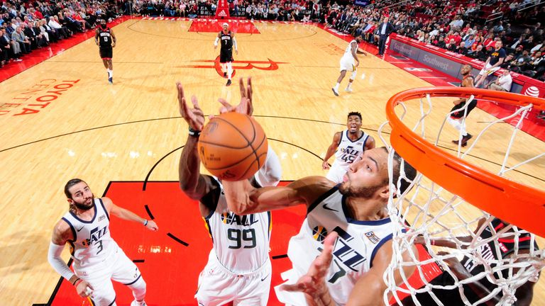 Rim protector Rudy Gobert says his team-mates must adapt to the league's new defensive rules