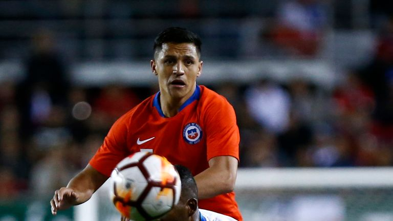 Alexis Sanchez scored for Chile against Honduras